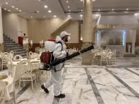 Küçükçekmece'de Düğün Salonları Dezenfekte Edildi