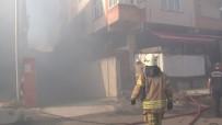 Pendik'te İş Yerinde Korkutan Yangın