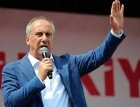 CHP - Yeni parti kuracağı iddialarıyla ilgili Muharrem İnce'den ilk açıklama