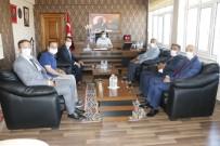 MHP İlçe Başkanı Yahya Sümer'den Kaymakam Bayram'a Ziyaret