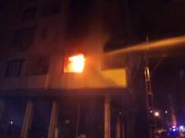 Şanlıurfa'da Bir Ev Alevlere Teslim Oldu