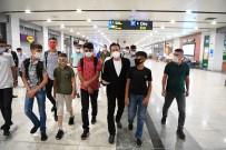 Tuzla Belediyesi, Koca Yürekli Diyarbakırlı Çocuklara İlklerle Dolu Keyifli Bir Gün Yaşattı