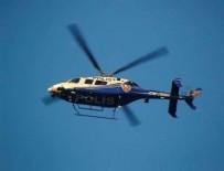 TAKSIM MEYDANı - Helikopter destekli denetim! Didik didik aradılar!