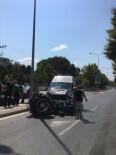 Ambulansla Traktör Çarpıştı Açıklaması 1 Ağır Yaralı