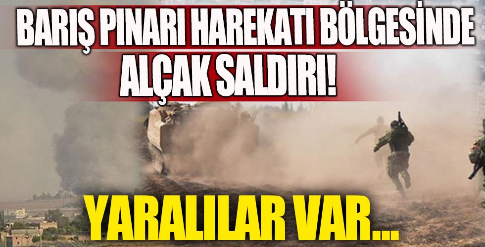 Barış Pınarı Harekatı bölgesinde alçak saldırı: 3 yaralı