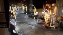 ŞİDDETLİ YAĞIŞ - Giresun'da sel! Araçlar yollarda sürüklendi