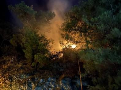 Yangın korku dolu anlar yaşattı!