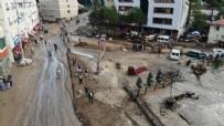 GİRESUN - Giresun'da sel felaketi: 3 bakandan önemli açıklamalar