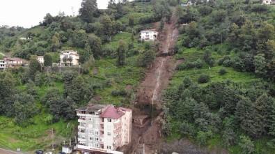 Giresun'dan sonra Rize'de felaket! Şiddetli yağış sonrası 2 bina boşaltıldı
