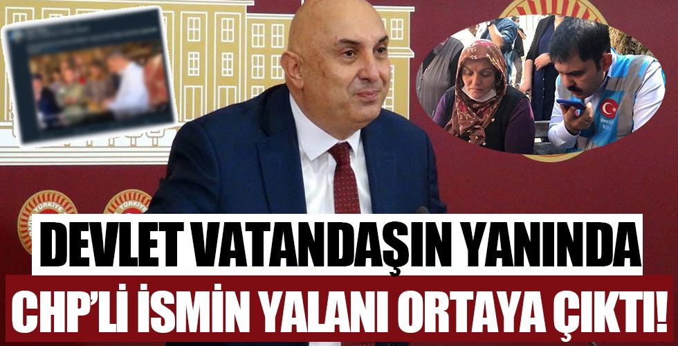 CHP Grup Başkanvekili Engin Özkoç'tan sel yalanı!