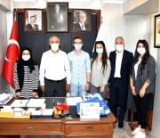 Öğrencilerden Başkan Aydın'a Teşekkür