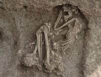 BAHÇELİEVLER - Apartman bahçesinde bulundu! 8 bin 500 yıllık insan iskeleti...