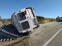 Samsun'da Yolcu Minibüsü İle Kamyon Çarpıştı Açıklaması 1 Ölü, 6 Yaralı