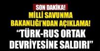 İDLIB - Türk-Rus ortak devriyesine saldırı