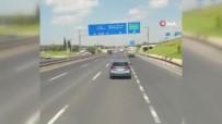 Tuzla'da Dakikalarca Süren Tehlikeli Yolculuk Kamerada