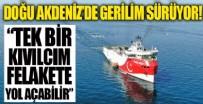 ALMANYA DIŞİŞLERİ BAKANI - Doğu Akdeniz'de sinir harbi tam gaz!