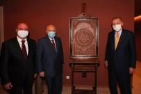 Başkan Pekyatırmacı'dan Erdoğan Ve Bahçeli'ye Eser Takdimi
