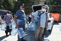 YıLMAZ BÜYÜKERŞEN - CHP'nin çağdaş belediyecilik anlayışında bugün! Damacanasını kapan su kuyruğuna girdi