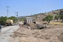 Hisarcık-Hacılar Arasındaki Yolda Hummalı Çalışma