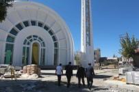 Müftü Topçu, Cami İnşaatında İncelemelerde Bulundu
