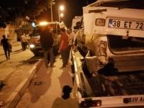 Otomobiller Çarpıştı Açıklaması 1 Yaralı