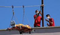 Şanlıurfa'da Üniversiteli İtfaiyeciler Mesleğe Hazırlanıyor