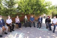 Vali Becel, Derinkuyu'da Şehit Ailesini Ziyaret Etti