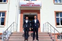 Amasya Milli Eğitim Müdürü Taşova'ya Veda Etti