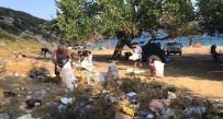 Erdekli Vatandaş Duyarsız Tatilcilerin Çöpünden Dertli