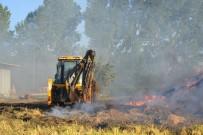 Biga'da Hayvan Damında Yangın Açıklaması 12 Hayvan Telef Oldu