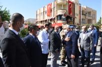 İçişleri Bakan Yardımcısı Mehmet Ersoy Nusaybin'de İncelemelerde Bulundu