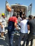 Mardin'de Tır Şarampole Uçtu Açıklaması1 Yaralı