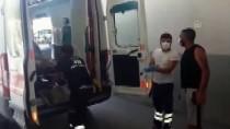 Adana'da Silahlı Saldırıya Uğrayan Baba Ve Oğlu Yaralandı