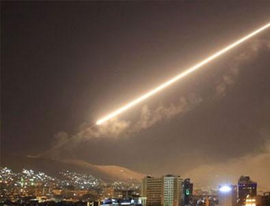 Şam'a hava saldırısı düzenlendi!
