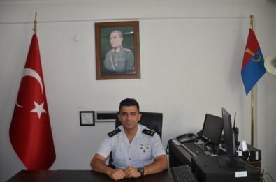 Bafra Jandarma Komutanı Terfi Etti