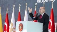 AÇILIŞ TÖRENİ - Başkan Erdoğan müjdeyi böyle duyurdu!