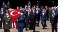 30 AĞUSTOS ZAFER BAYRAMı - Devletin zirvesi Anıtkabir'de!