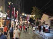 İstiklal Caddesinde Korona Virüs Denetimi Yapıldı