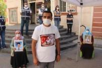 DİYARBAKIR - PKK'lı teröristlerden evlat nöbetindeki babaya hain pusu!