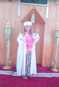 DIYANET İŞLERI BAŞKANLıĞı - Camide skandal görüntüler! Sosyal medya ayağa kalktı...