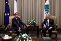 LÜBNAN CUMHURBAŞKANI - Fransa Cumhurbaşkanı Macron 3 hafta sonra yeniden Lübnan'da
