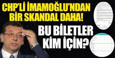İmamoğlu'ndan bir skandal daha!