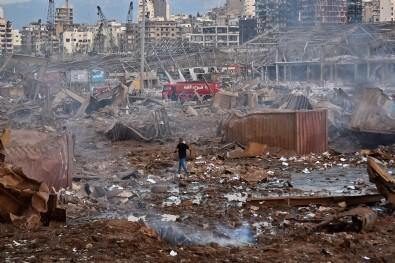Beyrut'taki korkunç patlamanın acı bilançosu ortaya çıkıyor!