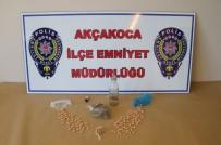 Akçakoca'da Uyuşturucu Operasyonu Açıklaması 1 Gözaltı