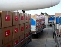 KAZAKISTAN - Türkiye'den KKTC, Azerbaycan, Kırgızistan ve Kazakistan'a Kovid-19 sürecinde tıbbi malzeme yardımı