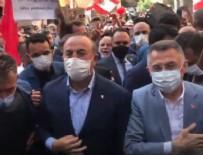 LÜBNAN - Beyrut'ta Türkiye heyecanı: Fuat Oktay ve Mevlüt Çavuşoğlu Beyrut'ta