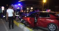 Isparta'da İki Otomobil Çarpıştı Açıklaması 7 Yaralı