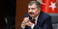 HASTANE - Sağlık Bakanı Fahrettin Koca koronavirüste son bilançoyu açıkladı...