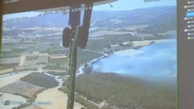 Çanakkale'de tarım arazisinde yangın!