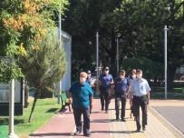 Gömeç'de Kaymakam Ve Belediye Başkanından Covid 19  Denetimi